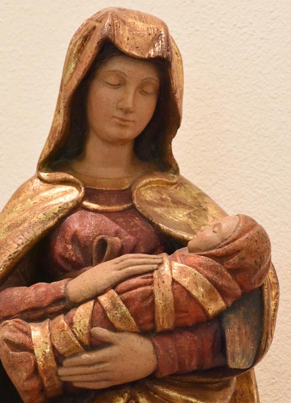 Vierge de l'oratoire de la maison des prêtres de Notre-Dame de Vie