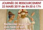 Journée de ressourcement -Rechercher la justice avec faim et soif, c'est cela la sainteté !