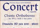 Concert d'été par le Chœur Cantus Dixit
