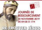 Journée de ressourcement – (Re)-trouver Jésus